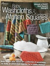 Baby Washcloths And Afghan Squares Knitting Book