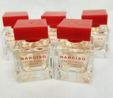 Narciso Rodriguez NARCISO ROUGE EDP 5 X 7.5 ml Mini Perfume Miniature New