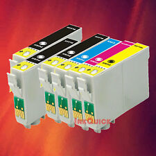 6 INK FOR EPSON 69 T0691 T0692 T0693 T0694 1 SET + 2 BK