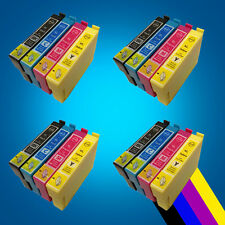 16 Ink Cartridges For T1281 T1282 T1283 T1284 T1285 NON-Original Epson