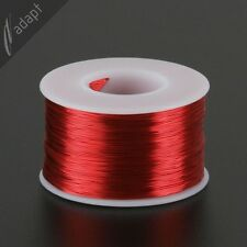 27 AWG Gauge Magnet Wire Red 800' 155C Solderable Enameled Copper Coil Winding