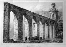 Evora Portugal Aqueduto ya que agua de drogas 1846 plata acueducto Silver aqueduct