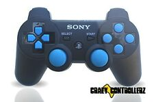PS3 Playstation 3 Modded Controller Rapid Fire Jitter Mod Black Ops 2 Blue More