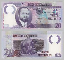 Mozambique/mocambique 20 de Metlcais 2011 polímero p149 UNC.
