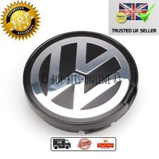55mm VW Alloy Wheel Centre Cap x 1. Golf Jetta Passat Beetle. 6N0 601 171 . UK