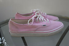 VANS CLASSIC LIGHT PINK CANVAS SNEAKERS T375 Mens Size 10