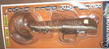 """9"""" Shallow Bull Dawg Musky Innovations Pike Lure Walleye No Fin Hook Plastic"""