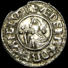 More details for aethelred ii hammered silver crvx penny barnstaple mint
