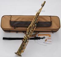 Professioanl Mark VI Model Soprano Saxophone Antique Bb Sax With Case