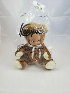"NWT Kewpie Kuddler Bear by Cameo Collectibles 9"" Brown"