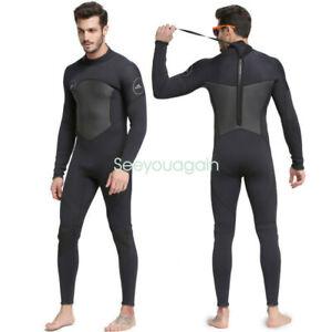 Sbart Herren 3mm Neopren Anzug Surfanzug Tauchanzug Overall Steamer