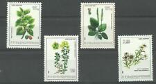 Albania Albanien Albanie 1984 Plants Flowers Flora MiNr 2229 - 2232 MNH**