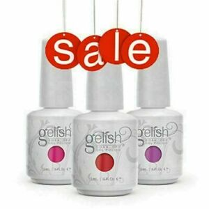 Gelish Harmony Base Soak-off Patent Pending Gel Color Nail Polish ORIGINAL 15ML
