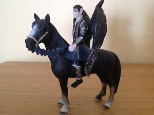 Schleich Turag Riding Winged Elf Bayala Figure Retried