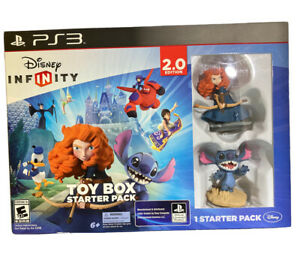 New PS3 Disney Infinity 2.0 Toy Box Starter Pack Playstation 3 Kids Game Sealed