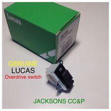 LUCAS 39166 OVERDRIVE SWITCH,FITS MGB/GT TRIUMPH SPITFIRE/STAG JAGUAR/DAIMLER