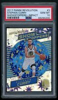 STEPHEN CURRY 2017-18 Panini Revolution Showstoppers IMPACT Warriors PSA 10 GEM