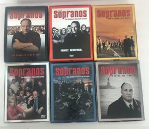 The Sopranos - Season's 1-6 Box Set - Like New DVD