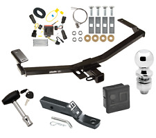 """Trailer Tow Hitch For 11-14 Ford Edge Sport Delux Package w/ Wiring 2"""" Ball Lock"""