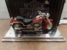 Harley Davidson 1999 FLSTF Fat Boy Maisto 1:18 Scale 120116DBE