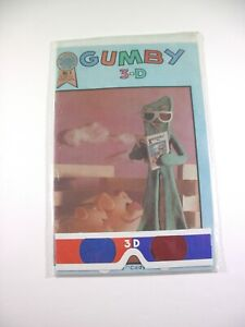 Blackthorne Publishing 3-D Gumby No. 1 Sealed w/ Glasses 1986 Comic Book