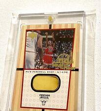 1999 Upper Deck Michael Jordan Final Shot Floor SP 1:2,500 Packs 2 Color UDA