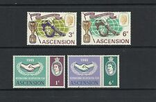 Mint Hinged Single Ascension Island Stamps