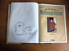 Edition original avec dédicace Les voyages de M'Victor par M-J Sacré - J. Rahir
