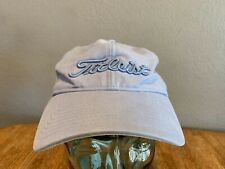 Women's Titleist Breast Cancer Awareness Logo Adjustable Velcro Hat Sky Blue