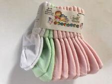 12 PAIR Infant Baby 6-18 Months Socks Girls Boys Pink / Blue White Yellow Green
