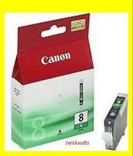 ORIG. cartucho Canon PIXMA pro 9000 9000 Mark II cli-8g verde Green