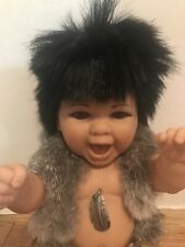 Reborn 17 Inches Berenguer Native America Baby Doll