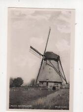 Mooi Nederland Watermolen Netherlands Vintage RP Postcard 102b