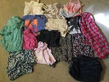 15PC LOT AMERICAN EAGLE SUMMER CLOTHES TOPS SHIRTS ROMPER DENIM SHORTS TANK GIRL