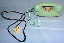 Vtg 1962 Bell System PRINCESS Rotary Dial Phone Aqua Blue Western Electric 701B