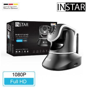 INSTAR IN-8015 FullHD WLAN Überwachungskamera ONVIF Nachtsicht PIR LAN IR Mikro
