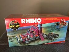 Kenner 1986 MASK Rhino Matt Tracker Europe Factory Sealed Cellophane M.A.S.K WOW