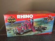 Kenner 1986 MASK Rhino Matt Tracker Europe Factory Sealed Cellophane M.A.S.K WOW