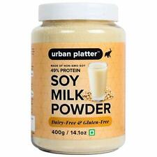 Urban Platter Soy Milk Powder, 400g Free Shipping