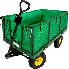 chariot de transport à main remorque max 550 kg + bache chariot de jardin