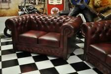Chesterfield 2 Sitzsofa     Leder Glatt Standard