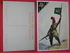 CARTOLINA COLONIALE XXI° BATTAGLIONE ERITREO DELLA CIRENAICA - CAMPAGNE 1925/26