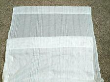 2 White Curtain Panels 37 x 60