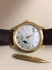 Glashutte  Moon Phase Calendar 39mm Men's 18K Yellow Gold Watch