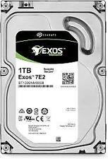 "Seagate Exos ST1000NM0008 7E2 3.5"" HDD 1TB 7200 RPM 512n SATA 6Gb/s 128MB Cache"