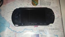 Sony PSP E1000 Charcoal Black Spielkonsole (Handheld) mit 9 Spiele