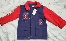 Roots 73 Canada Toddler Kids 2T Transitional Blazer Jacket Suit Blue