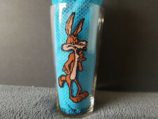1973 Looney Tunes Wile E. Coyote Pepsi Drinking Glass Collector's Series Warner