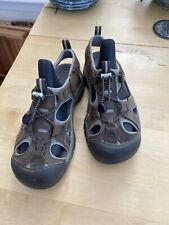 Keen Womens Brown Leather Walking Sandals Size UK 5 EU 38