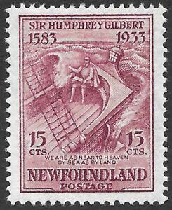 Newfoundland; Scott 222i, inverted watermark, MNH.